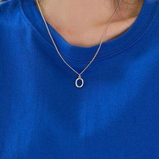 Circle-pendent Necklace