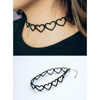Heart Choker Necklace