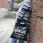 Letter Canvas Shopper Bag