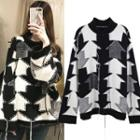 Arrow Patterned Sweater