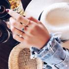 Alloy Star / Heart Ring (various Designs)