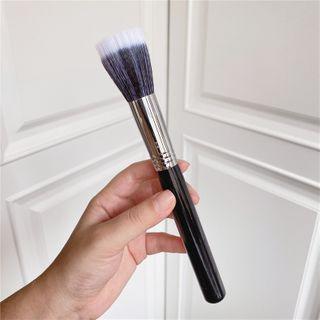 Makeup Brush White & Dark Purple - One Size