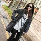 Hooded Fleece-lined Jacket