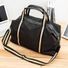 Contrast Trim Carryall Black - One Size