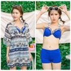 Set: Bikini + Printed Cover Up