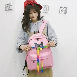 Butterfly Nylon Backpack