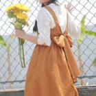 Strappy Midi Jumper Dress