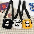 Canvas Panda Crossbody Bag