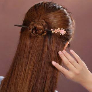 Retro Resin Flower Hair Stick
