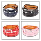 Couple Matching Faux-leather Bracelet