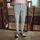 Slim-fit Cuffed Pants