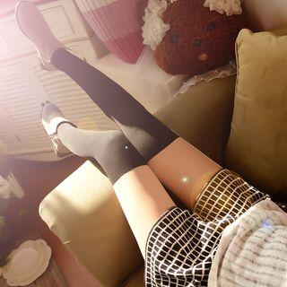 Color Panel Tights