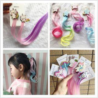 Cartoon Color Hair Extension
