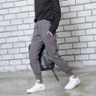 Brushed Fleece-lined Harem Pants