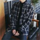 Pocket-front Plaid Flannel Shirt