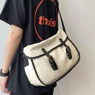 Buckle Detail Messenger Bag