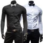 Bow Long-sleeve Shirt