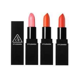 3 Concept Eyes - Glass Lip Color (7 Colors) #404 Glass Orange