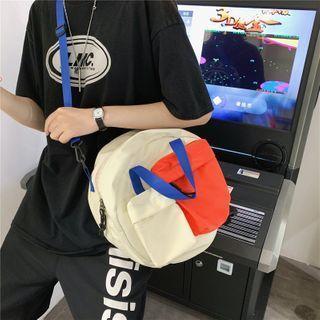 Color Pane Crossbody Bag