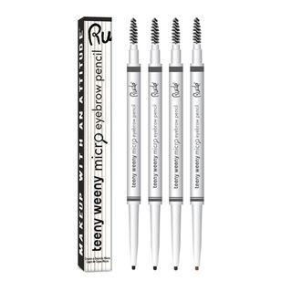 Rude - Teeny Weeny Micro Eyebrow Pencil - Black Brown 1 Pc