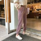 Corduroy Striped Harem Pants