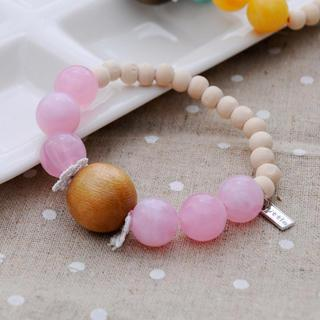 Kiss The Beach Bracelet(pink)