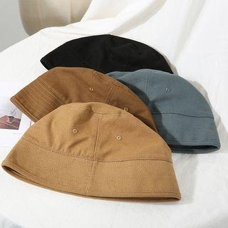 Street Fashion Plain Bucket Hat