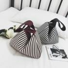 Striped Canvas Handbag