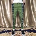 Plain Panel Jogger Pants