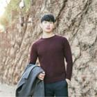 Wool-blend Colored Sweater