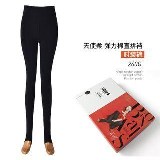 Plain Tights S8308 - Black - One Size