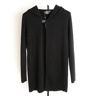 Hooded Zip Knit Jacket