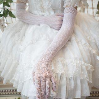 Bridal Lace Gloves