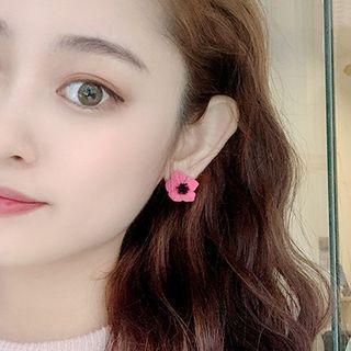 Flower Earring 01 - Earrings - One Size
