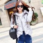 Applique Padded Jacket