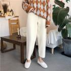 High Waist Knit Pants