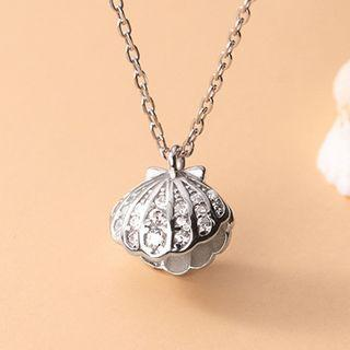 Shell Necklace S925 Silver - As Shown In Figure - One Size