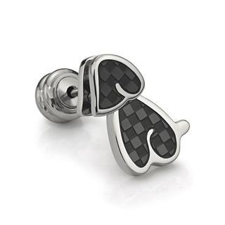 Doggy Earring (ip Black, Single) Ip Black - One Size