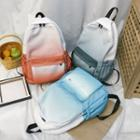 Ombre Canvas Backpack