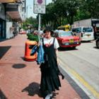Frilled-trim Jumper Dress