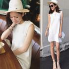 Sleeveless Mini Knit Dress