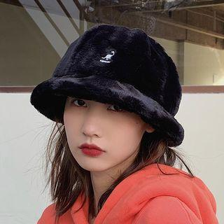 Embroidered Chenille Bucket Hat