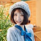 Melange Pointed Knit Beanie