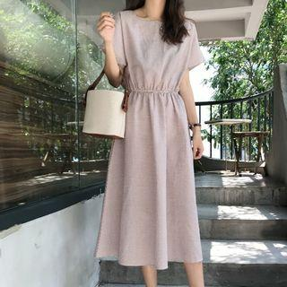 Short-sleeve T-shirt Midi A-line Dress