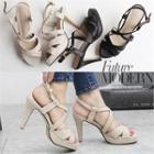 Stiletto-heel Strappy Sandals