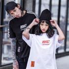 Couple Oversized Raglan T-shirt