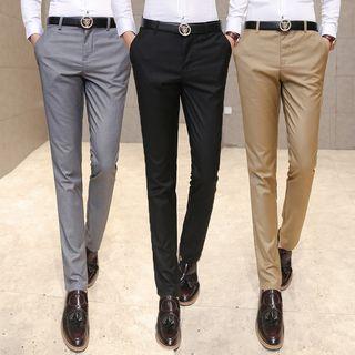 Straight Leg Dress Pants