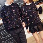 Couple Matching Printed Sweatshirt