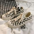 Checked Sneakers