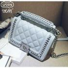 Quilted Chained Shoulder Bag